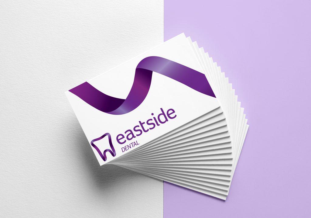 Eastside Dental Business Cards • SW Design & Print